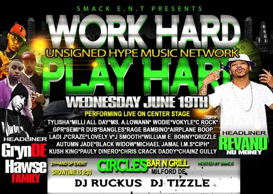 Unsigned Hype Flyer