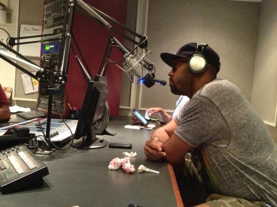 GrynDE Hawse Superstar Comedian Yuso Dam Wyldman on 91.3 WUVD radio.