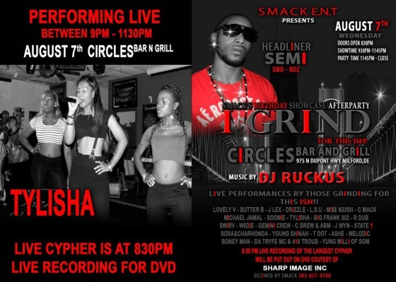 August 7th Smack Flyer